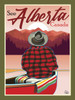 "Alberta Canoe - 10-Pack of  4""x 6"" Art Cards"