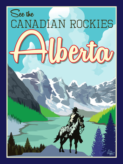 "Alberta - 10-Pack of  4""x 6"" Art Cards"
