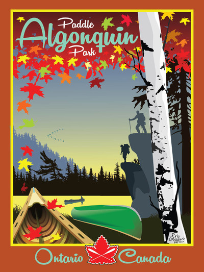"Algonquin Park - 10-Pack of  4""x 6"" Art Cards"