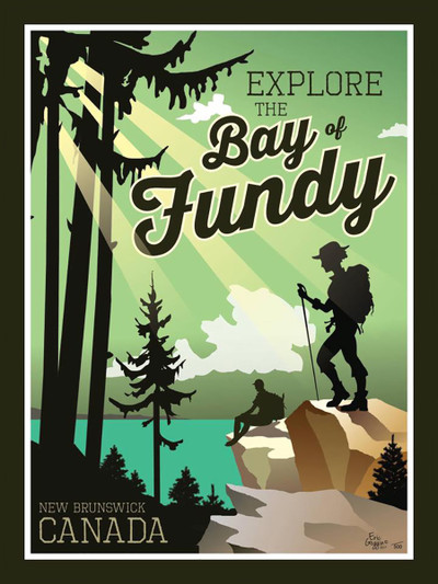 """Bay of Fundy - 10-Pack of  4""""x 6"""" Art Cards"""