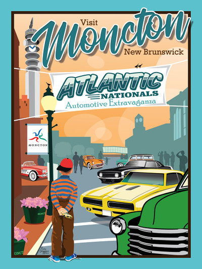 "Atlantic Nationals Moncton - 10-Pack of  4""x 6"" Art Cards"