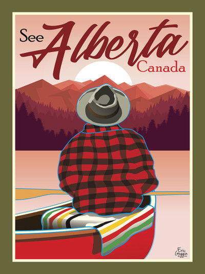 Alberta Canoe - Ready2Frame