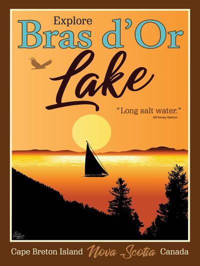 Bras d'Or Lake - Ready2Frame
