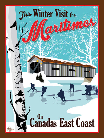 Maritime Winter Greeting Cards