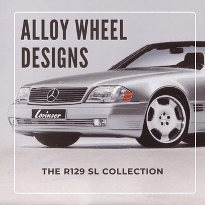 R129 SL Alloy Wheels Designs - Collection