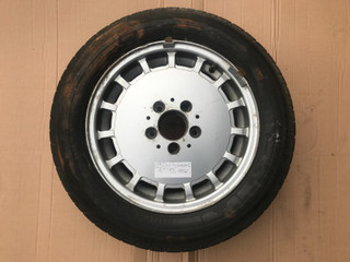 "Mercedes Alloy Wheel (151) 1244010902 Rim x1 15"" - 7J ET41 
