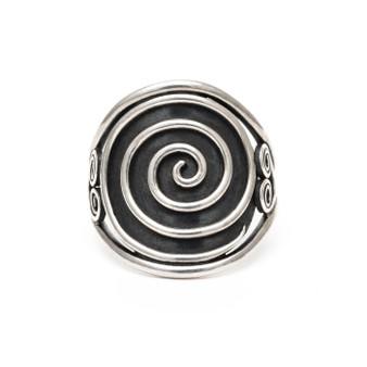 Spiral Ring Sterling Silver