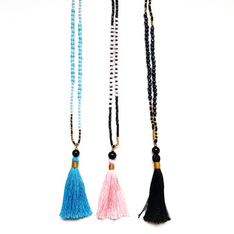 Tassa Tassel Necklace