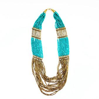 Mundra Special Design Necklace Small Beads