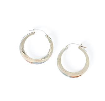 Hoops Sterling Silver Earrings