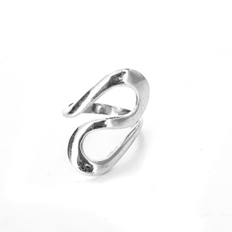S Ring Sterling Silver