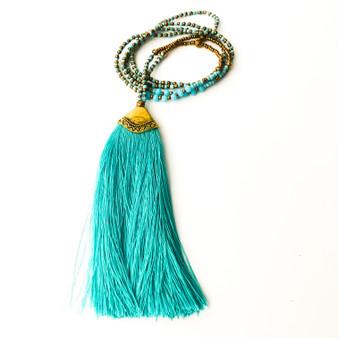 Paya Tassel Necklace