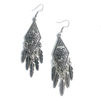 Anaya Earrings Feathers