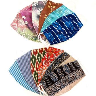 Face Mask with Filter Pocket set of 6
