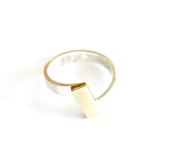 Dual Ring Sterling Silver