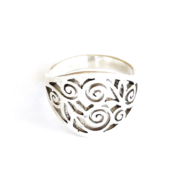 Nanda Ring Sterling Silver