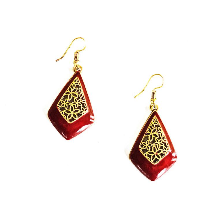 Mana Special Design Dewdrop Earrings