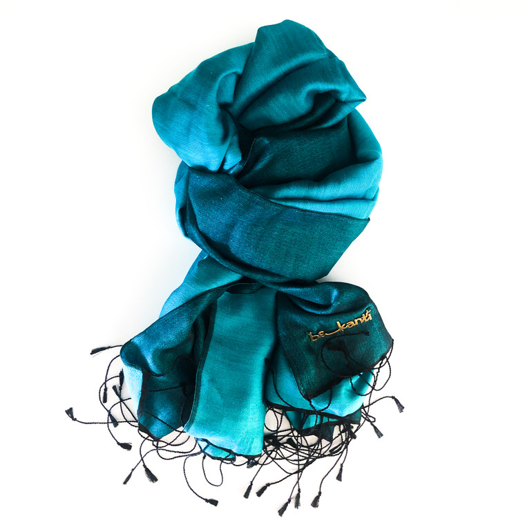 Pramod Silk Scarf Two Tone