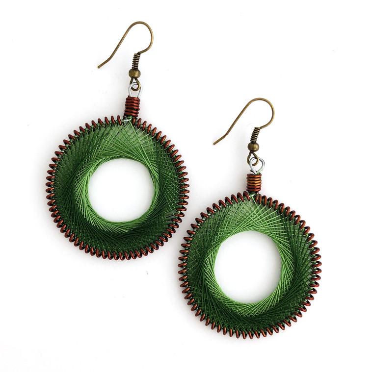 Chandraki Earrings Open Circle