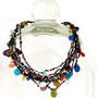 Neha Necklace Knit Multi colors