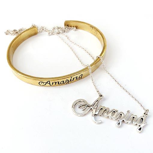 custom membership or organization jewelry sample