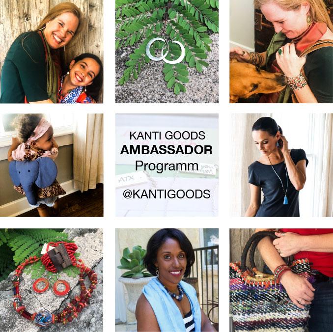 Kanti Goods jewelry ambassador affiliate program photo
