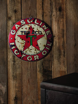 Antiqued Filling Station Wall Sign