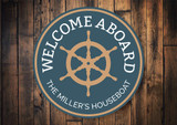 Houseboat Sign