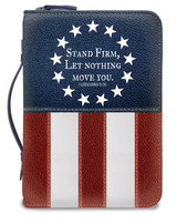 Divine Details 2020: Bible Cover: US Flag Stand Firm
