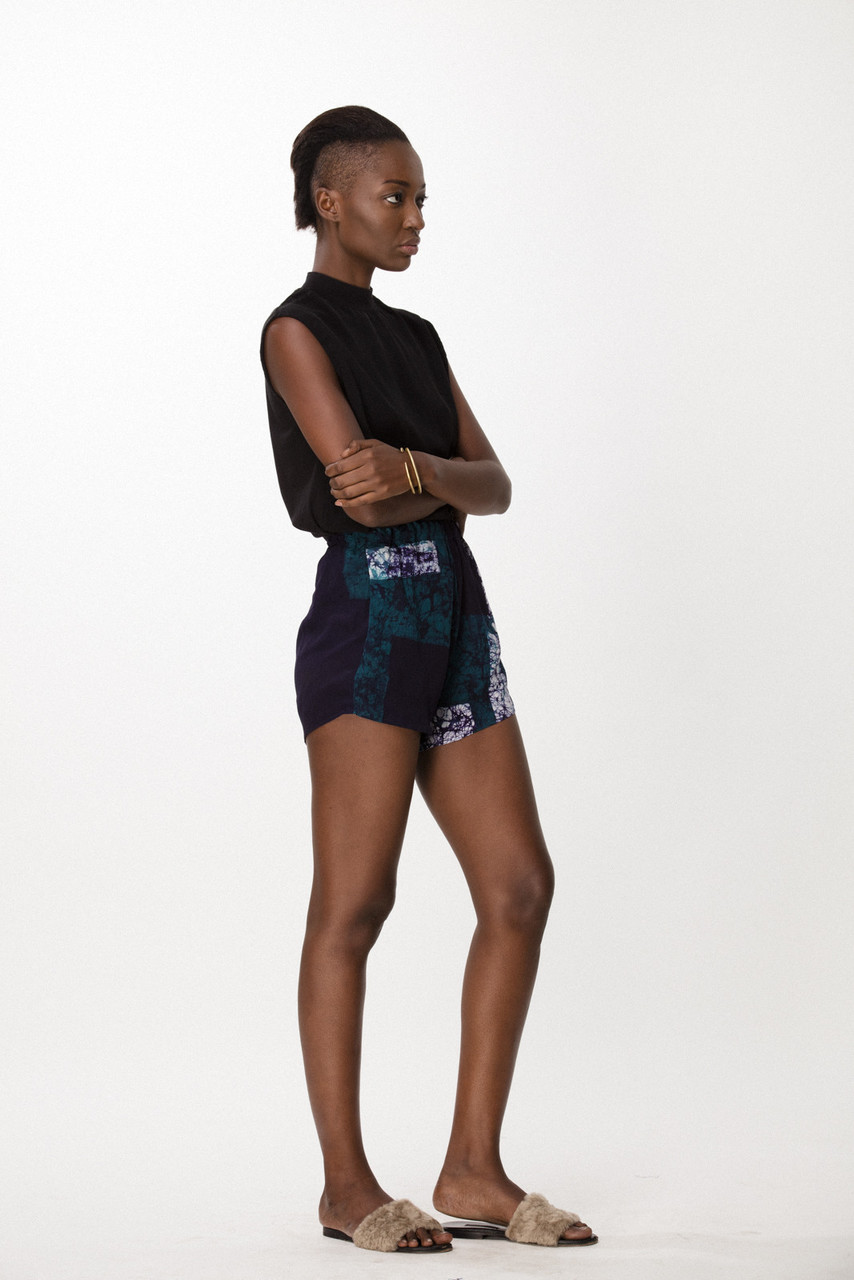 Dash Shorts, Navy Rubics