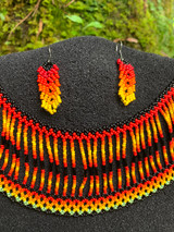 Collar Necklace - Fire of Life