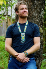 Beaded Medicine Necklaces - Living water flow