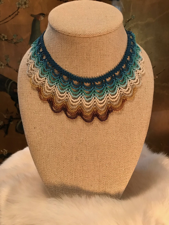 Sea-Meets-the-Earth Necklace