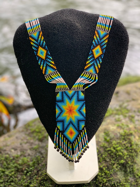 Beaded Medicine Necklaces - Light, Path and Life