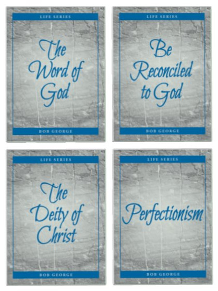 The Word of God, Be Reconciled to God, The Deity of Christ, and Perfectionism helpful guides to hand out to friends.