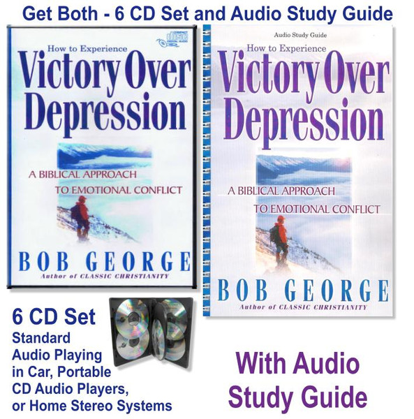 Victory Over Depression 6 audio CD set and Study Guide