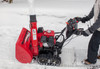 """Honda HSS724AATD 24"""" Two Stage Snow Blower in Action"""