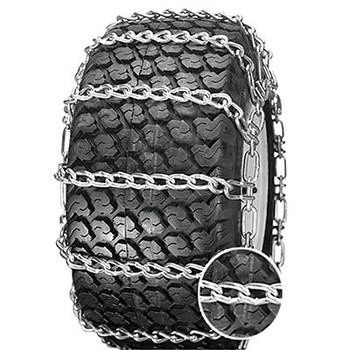 ICC 2 Link Snow Blower/Garden Tractor Tire Chains - Fit: 20x8x8, 20x8.00x10