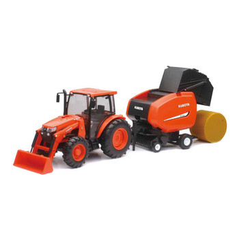 Kubota M5-111 Tractor with Hay Tools