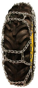 ICC Tru Grip H-Pattern Tractor Tire Chains - Fit: 11-28, 12.4-28, 10-32, 11.2-32, 9.5-36, 9.5-38