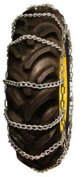 ICC Roadboss 2 Link Twist Link Tractor Tire Chains - Fit: 315/75-15, 11.00-16, 11.2-16, 12-16.5, 10.5/80-18, 12.5-18, 8.3-24
