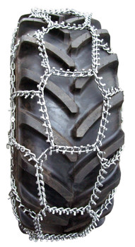 Trygg Fast Trac Tire Chains - Fit: 14.9-28, 14.9-30, 14.9-38, 15.5-38, 16.00-24/25, 16.9-24, 16.9-26, 16.9-28, 16.9-30, 16.9-34