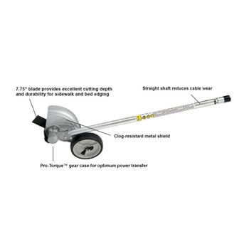 Echo Straight Shaft Edger Attachment Features