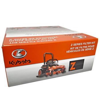 Kubota 77700-05390 Z700 Series Filter Kit. Fits: Z723KX-48, Z724KH-54, Z725KH-60. Filter Kit includes Engine, Transmission, Outer Air and Fuel Filters.