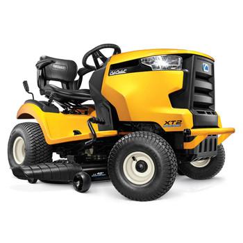 """Cub Cadet XT2 LX42 679 cc Cub Cadet Twin 42"""" Stamped Deck Hydro Foot (Tuff Torq K46) Maual PTO Fast Attach Blades Riding Lawn Tractor"""