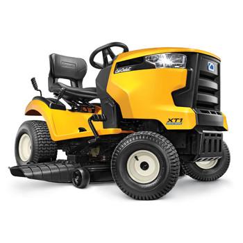"""Cub Cadet XT1 LT46 22 HP Twin Kohler 7000 46"""" Stamped Deck Hydro Foot (Tuff Torq TL200) Maual PTO Riding Lawn Tractor"""
