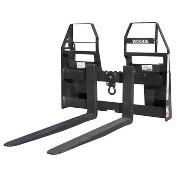 Woods PF4448S Skid Steer Quick Attach Pallet Forks