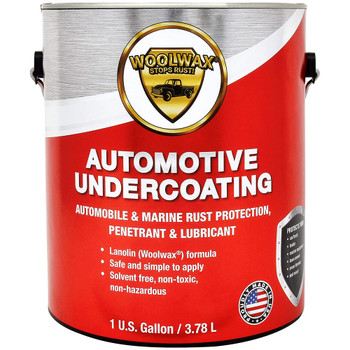 WOOLWAX Automotive Undercoating, Rust Protection, Penetrant & Lubricant - Straw (Clear)