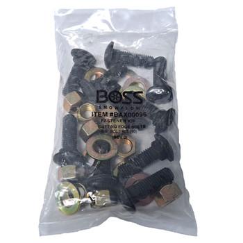 "Boss BAX00096 Cutting Edge Bolt Kit, 5/8"", 10 Per Bag"