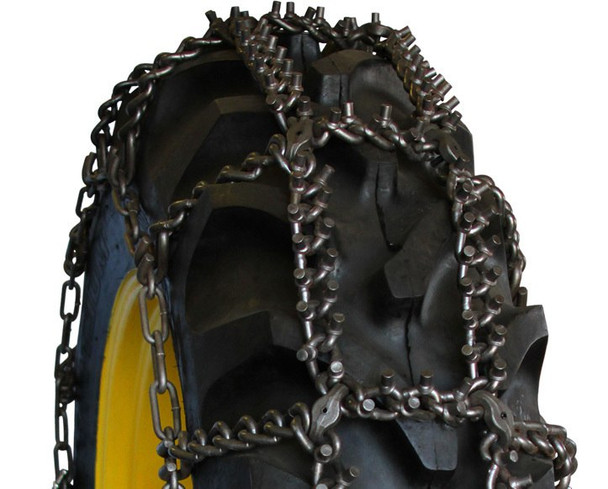Aquiline Talon Studded Tractor Tire Chains - Fit: 11.2-24, 12.4-20